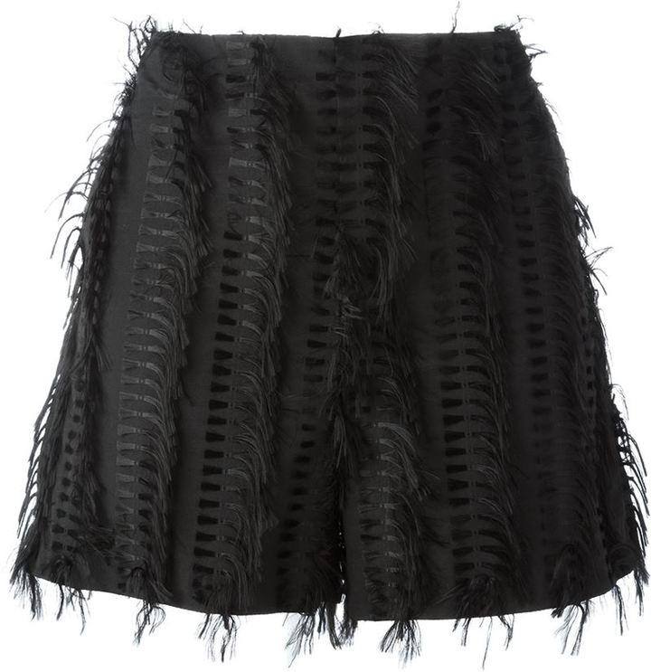 ChalayanChalayan 'Nothing' frayed shorts
