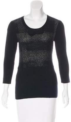 Burberry Linen Knit Sweater