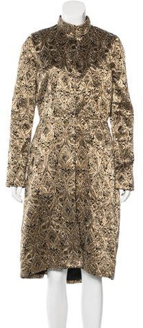 Alice + OliviaAlice + Olivia Embellished Brocade Coat