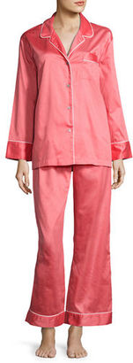 Natori Basic Cotton Pajama Set $140 thestylecure.com
