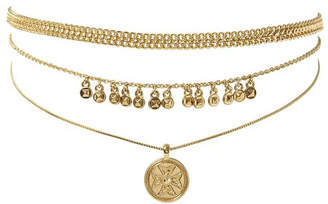 Luv Aj The Noa Coin Charm Necklace