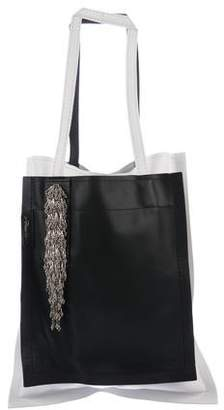 3.1 Phillip Lim Beaded Slim Accordion Tote