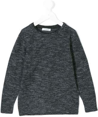 Paolo Pecora Kids knitted crew neck jumper