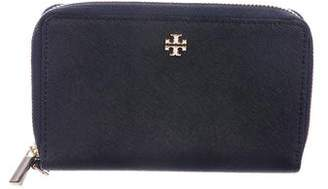 Tory Burch Leather Perry Zip Wallet