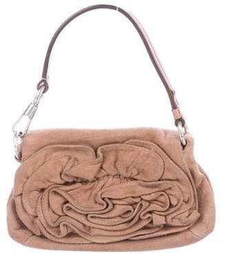 Saint Laurent Mini Suede Handle Bag