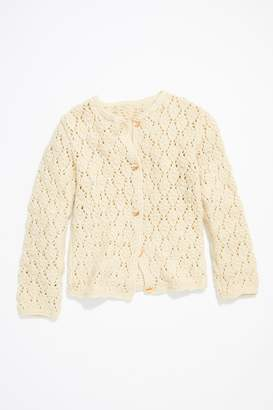 Vintage Loves Vintage 1960s Hand Knit Cardigan