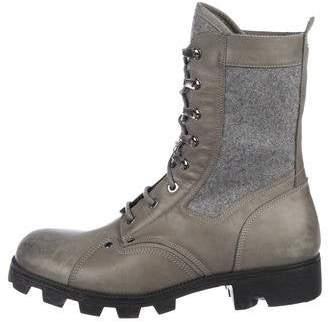 Maison Margiela High-Top Combat Boots