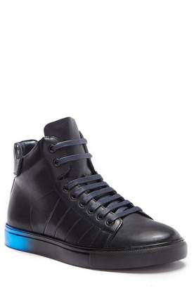 Badgley Mischka Bronson Leather High-Top Sneaker