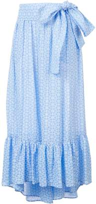 Lisa Marie Fernandez Nicole Cotton-Voile Maxi Skirt