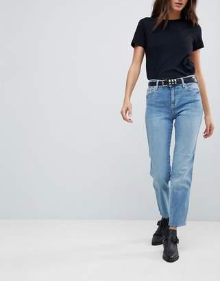 Free People Clean Girlfriend Mom Jeans