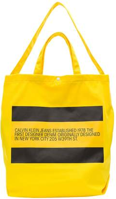 Calvin Klein Jeans Small Tote With Est.1978 Logo
