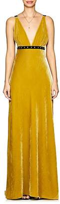 Philosophy di Lorenzo Serafini Women's Embellished Velvet Gown