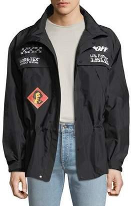 Off-White Men's GoreTex® Zip-Front Jacket