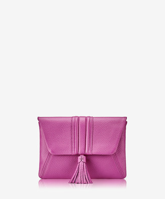 GiGi New York Ava Clutch, Azalea Pink Pebble Grain
