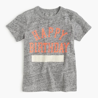 Kids' happy birthday T-shirt $32.50 thestylecure.com