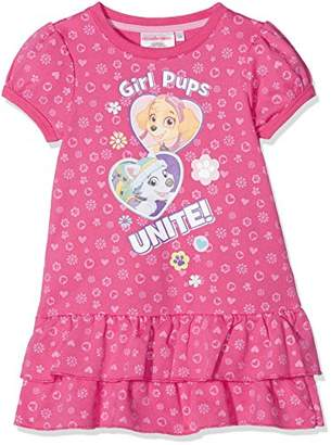Nickelodeon Girl's Paw Patrol Pup Unit Dress,(Manufacturer Size: 3 Years)
