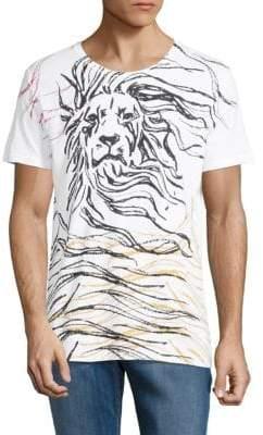 Antony Morato Lion Short-Sleeve Cotton Tee
