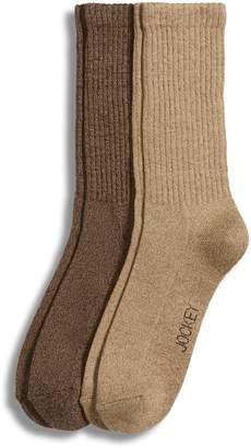Jockey Two-Pack Marl Crew Socks