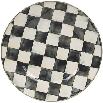 Mackenzie Childs Courtly Check Dinner Plate