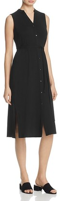 Eileen Fisher Sleeveless Shirt Dress - 100% Exclusive $218 thestylecure.com