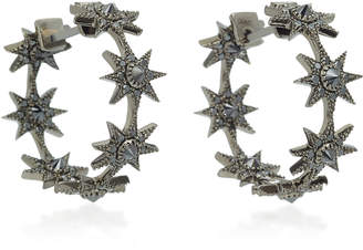 Black Diamond Colette Jewelry Baby Star 18K Gold Earrings