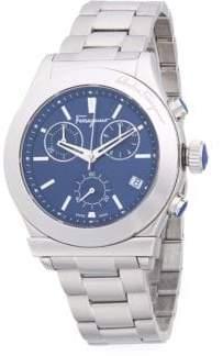 Salvatore Ferragamo Logo Stainless Steel Bracelet Watch