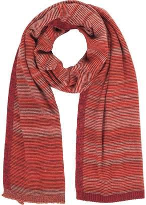 Marina D'Este Striped Wool & Cashmere Scarf