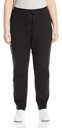 Just My Size Women's Plus French Terry Pant