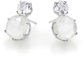 Ippolita Rock Candy Two-Stone Earrings in Oyster