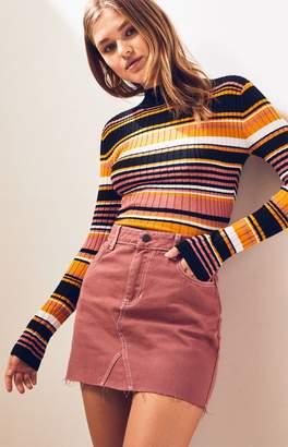 PacSun Rose Vintage 5-Pocket Skirt