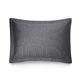 Ralph Lauren Home Doncaster Charcoal Standard Pillow Case 50 x 75Cm