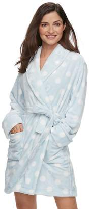 Sonoma Goods For Life Women's SONOMA Goods for Life Short Plush Robe