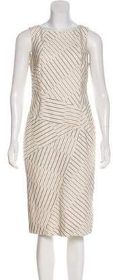 Thakoon Striped Midi Dress