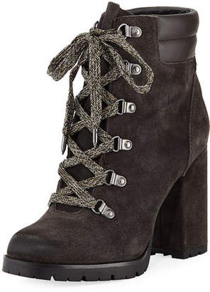 Sam Edelman Carolena Velutto Lace-Up Boot