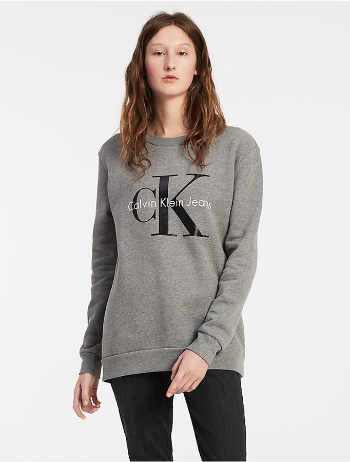 Calvin KleinCotton French Terry Sweatshirt