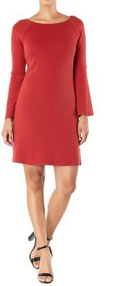 Aryeh Bell-Sleeve Knit Dress
