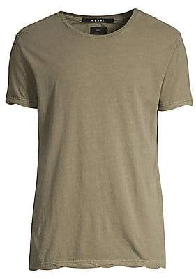 Ksubi Men's Sioux Solid Cotton Tee
