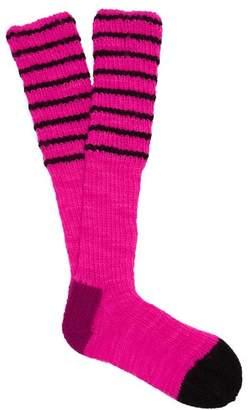 La Fetiche - Lyle Wool Socks - Womens - Pink Multi