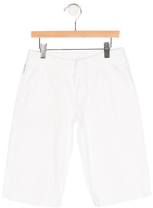 Armani Junior Armani Junior Boys' Four Pocket Logo Print Shorts