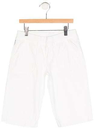 Armani JuniorArmani Junior Boys' Four Pocket Logo Print Shorts