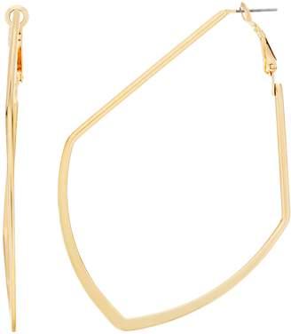 JLO by Jennifer Lopez Pointed Hoop Earrings