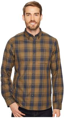 Fjallraven Ovik Flannel Shirt Men's Long Sleeve Button Up