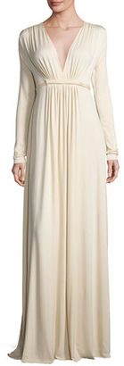 Rachel Pally Long-Sleeve Full-Length Caftan Dress, Plus Size $273 thestylecure.com