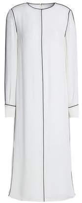 Valentino Silk-Crepe Mid Dress