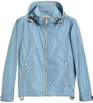 Burberry packaway hood showerproof jacket