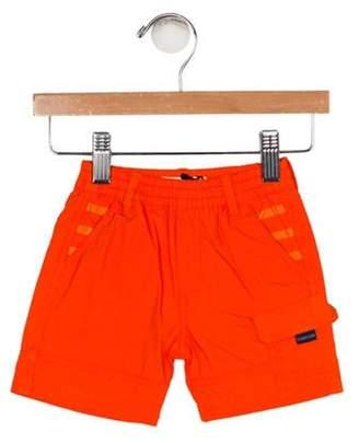 Jean Paul Gaultier Boys' Three Pockets Knee-Length Shorts w/ Tags orange Boys' Three Pockets Knee-Length Shorts w/ Tags