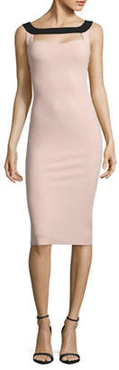 Chiara Boni Cut-Out Sheath Dress