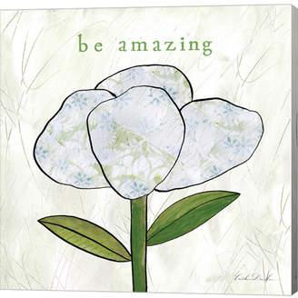 Paper Flower Iv by Caitlin Dundon Canvas Art