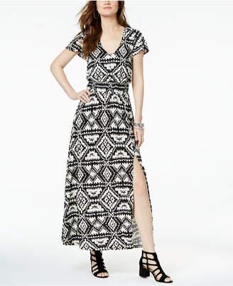 INC International Concepts I.n.c. Ikat-Print Maxi Dress, Created for Macy's
