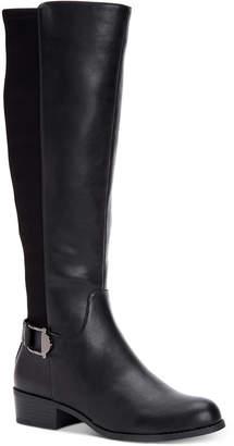 Alfani Women Step 'N Flex Kallumm Wide-Calf Boots, Women Shoes